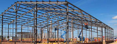 Steel structures, fencing
